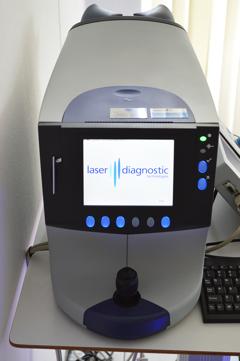 Glaukomfrüherkennung mit dem GDX Nervenfaseranalyzer